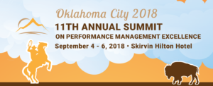 summit conference 2018 banner 11th annual summit conference on performance management september 4 through 6 2018 skirvin hilton hotel oklahoma city