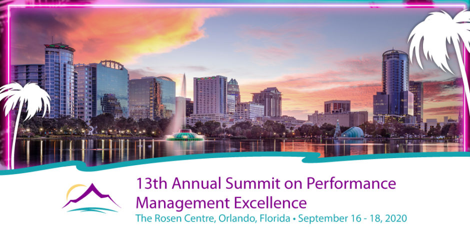 13th annual summit on performance management excellence